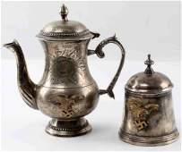 WWII GERMAN THIRD REICH LUFTWAFFE CANTEEN TEA SET