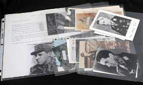 WWII GERMAN THIRD REICH LUFTWAFFE SIGNED LOT OF 19