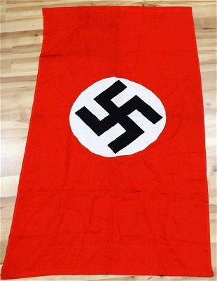 DEUTSCHLAND ERWACHE THIRD REICH NAZI STANDARD FLAG - Apr 09, 2016