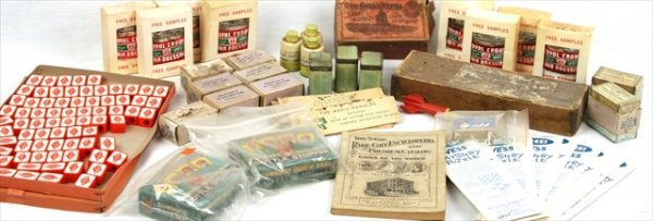 ANTIQUE GENERAL STORE HAIR PRODUCTS PUZZLES