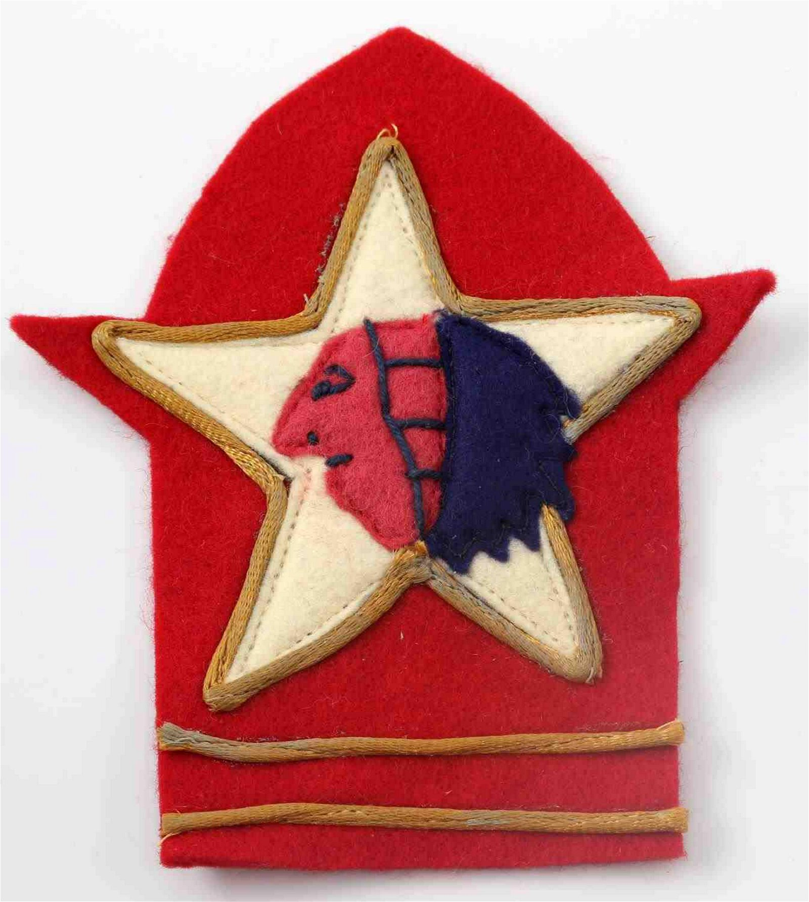 WWI US ARMY 2ND DIVISION ARTILLERY AEF PATCH