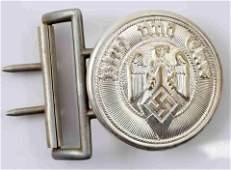 WWII GERMAN THIRD REICH HITLER YOUTH BELT BUCKLE