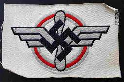 WWII GERMAN DLV GLIDER KORPS SPORTS SHIRT EMBLEM