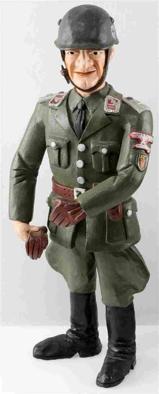 WWII GERMAN THIRD REICH SS SOLDIER STATUE FIGURE