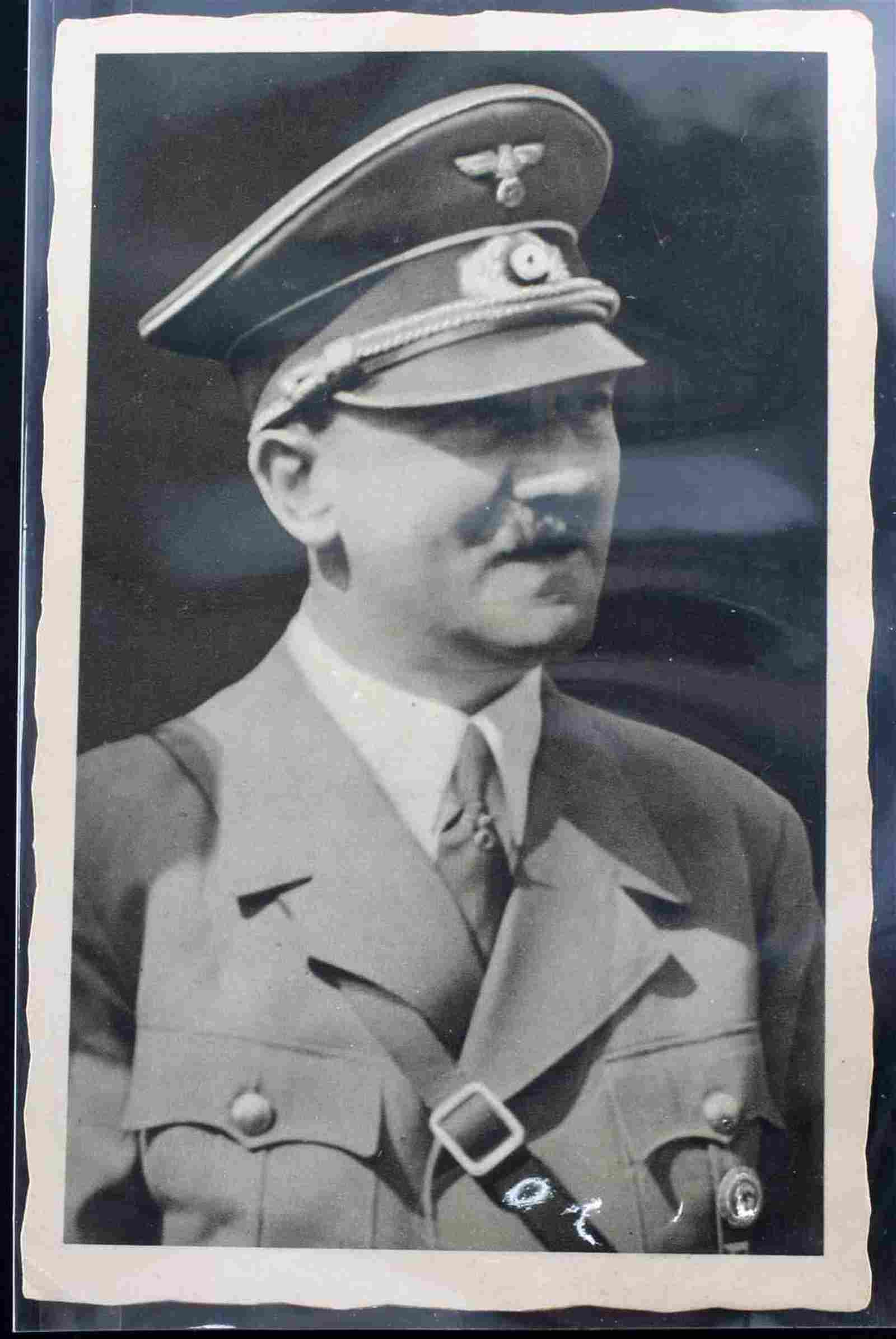 WWII GERMAN THIRD REICH HITLERS BIRTHDAY POSTCARD