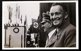 WWII NSDAP GERMAN FUHRER RALLY PHOTO POSTCARD 1939