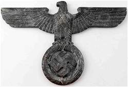 WWII GERMAN THIRD REICH WALL EAGLE PLAQUE