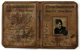 WWII GERMAN THIRD REICH NEW BERLIN ID AUSWEIS