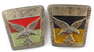 GERMAN WWII AFRICA CAMPAIGN CIGARETTE CASE