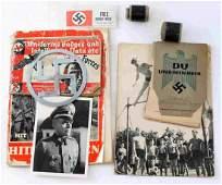 WWII GERMAN THIRD REICH EPHEMERA FILM PHOTO LOT