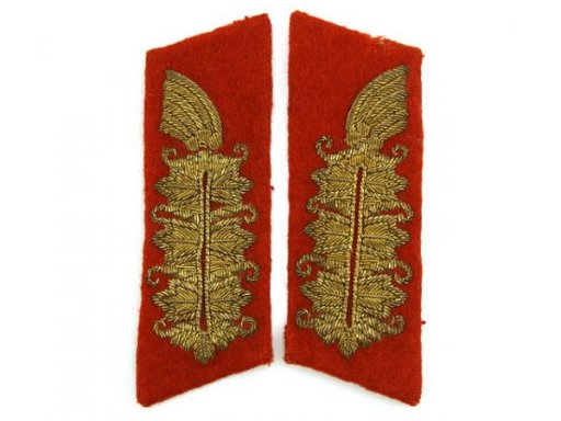 GERMAN WWII ARMY GENERAL COLLAR PATCHES