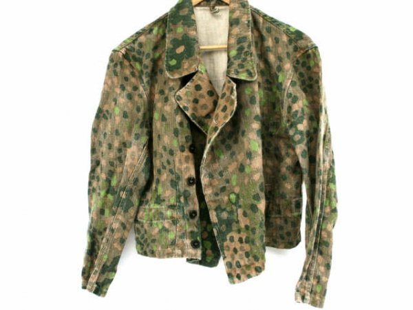 WWII SS PANZER DIVISION PEA PATTERN CAMO WRAPPER
