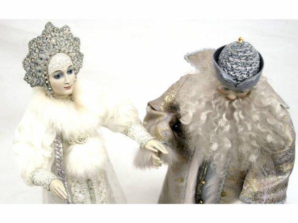 ALEXANDRA KOUKINOVA DOLLS FATHER FROST SNOW MAIDEN - 4