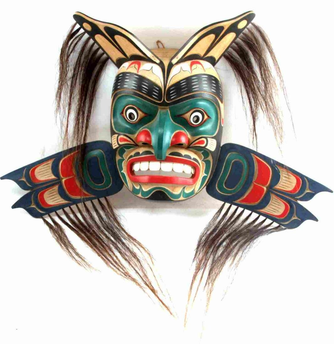 PACIFIC NORTHWEST NATIVE AMERICAN MASK