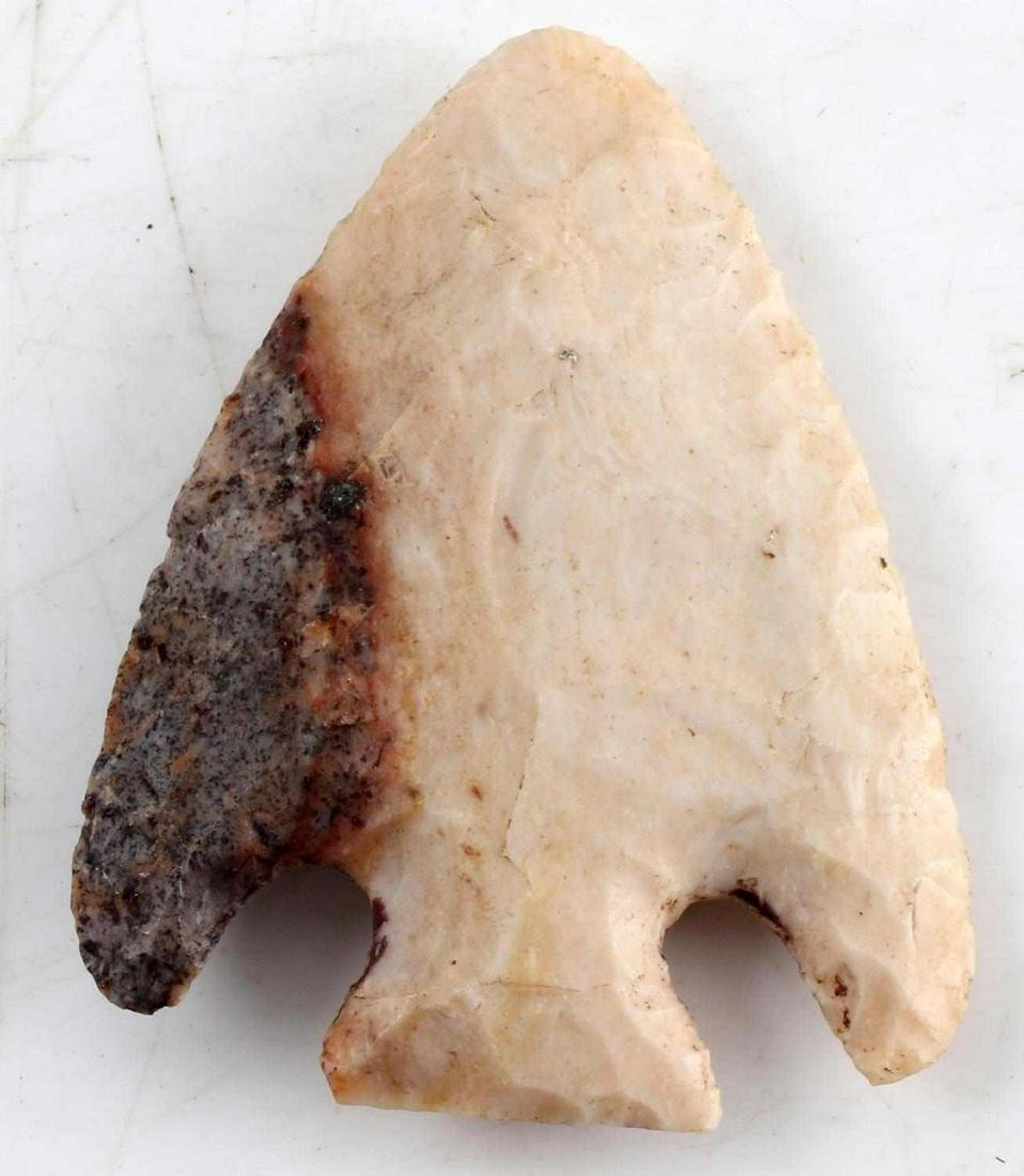 NATIVE AMERICAN ARCHAIC ARROWHEAD LOT NOTCHED