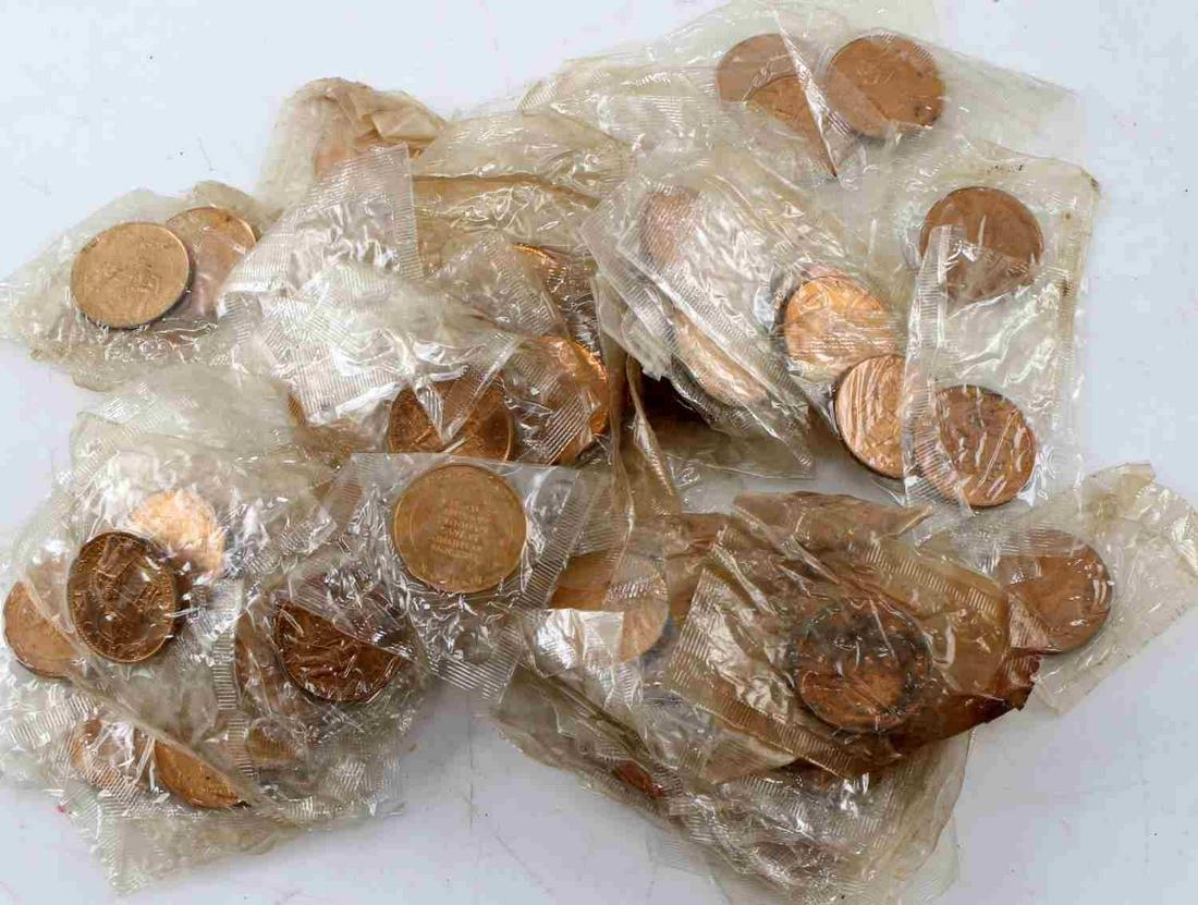 APOLLO 11 1969 COMMEMORATIVE COIN TOKEN LOT OF 100