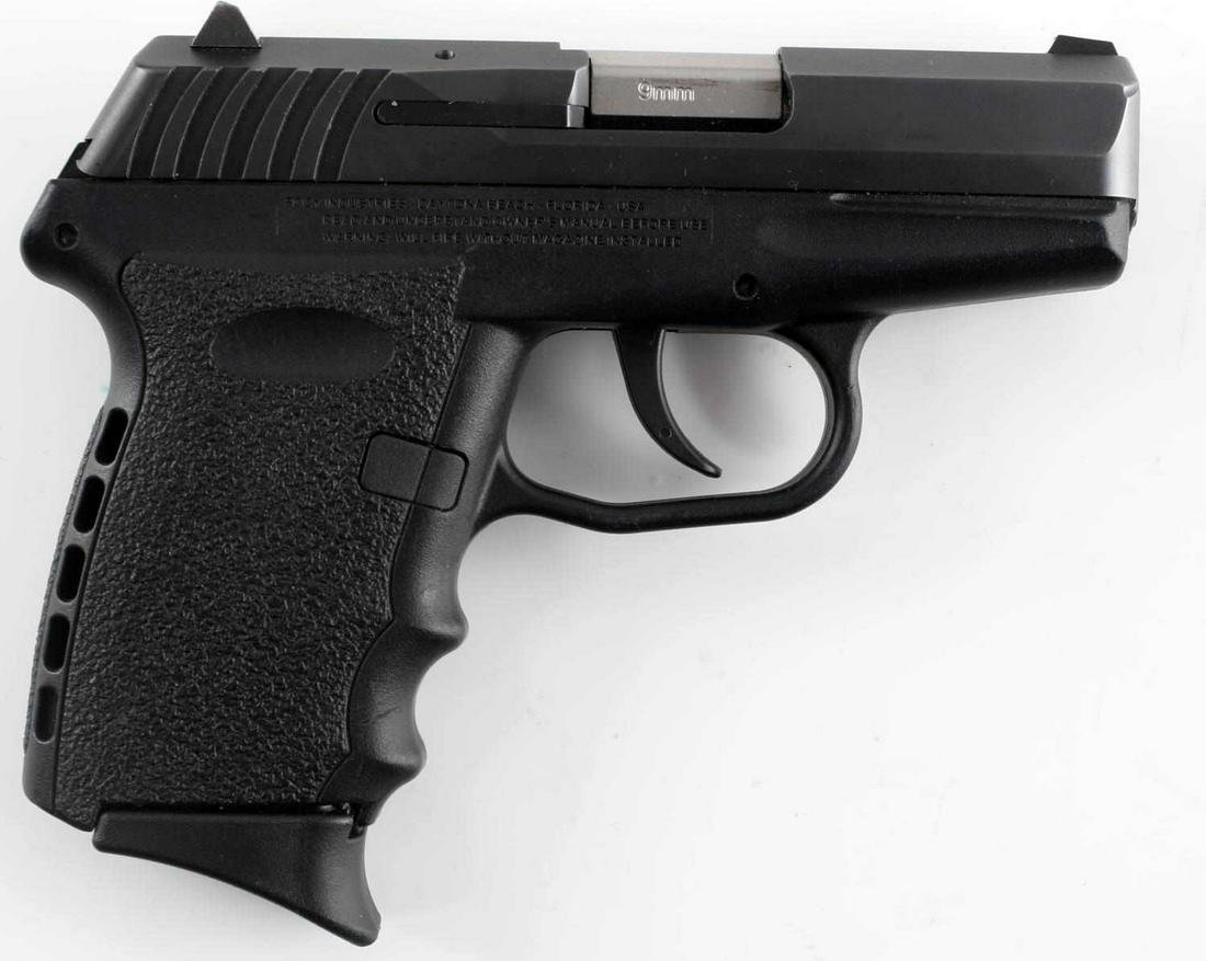 SCCY INDUSTRIES CPX2 SEMI AUTO PISTOL IN 9MM