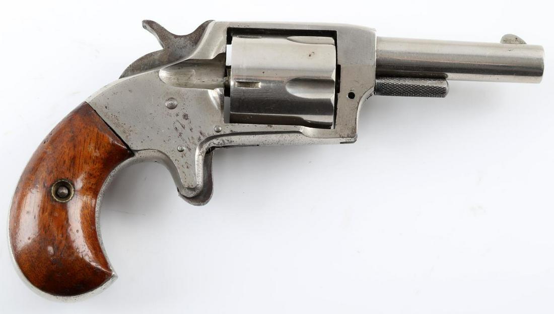 IVER JOHNSON DEFENDER 89 PIN FIRE REVOLVER