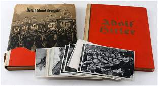 WWII GERMAN THIRD REICH TOBACCO CARD ALBUMS HITLER