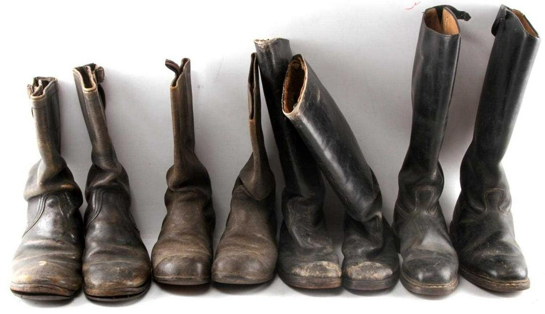 WWI & WWII GERMAN AND AMERICAN BOOT LOT
