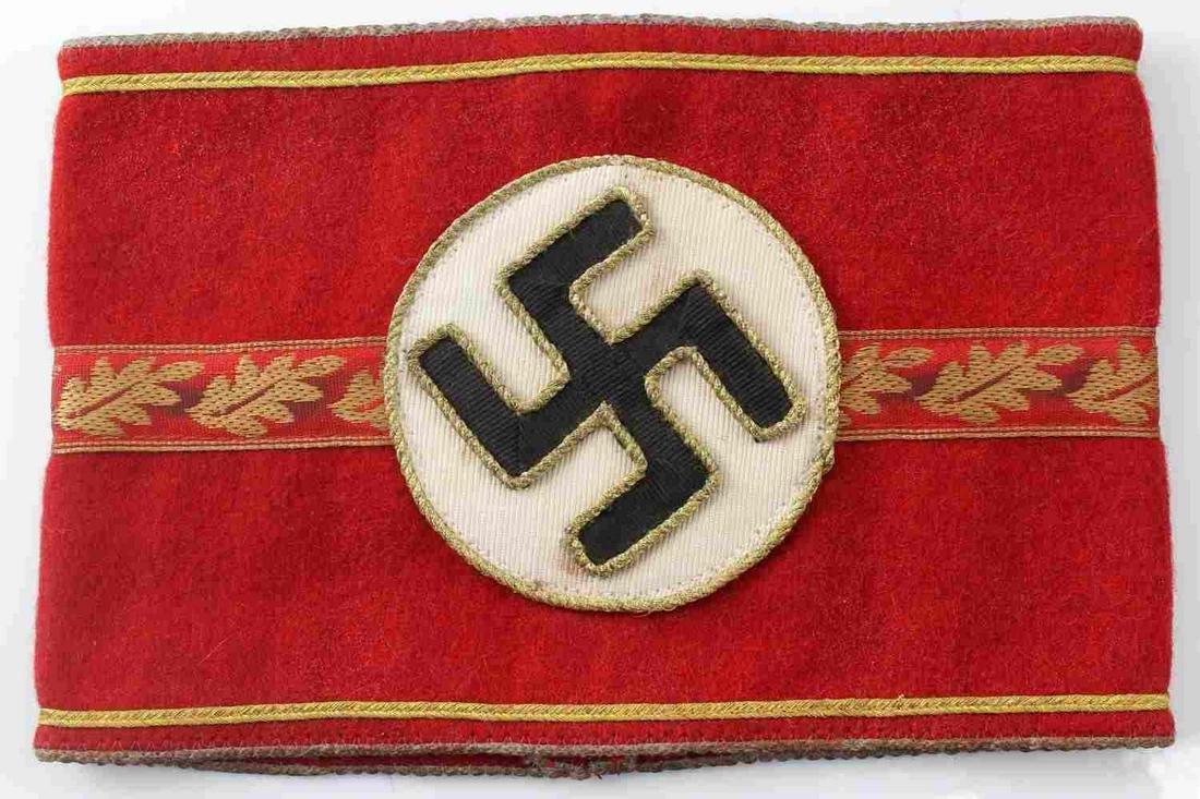 GERMAN POLITICAL NSDAP HIGH LEADER ARMBAND REPRO