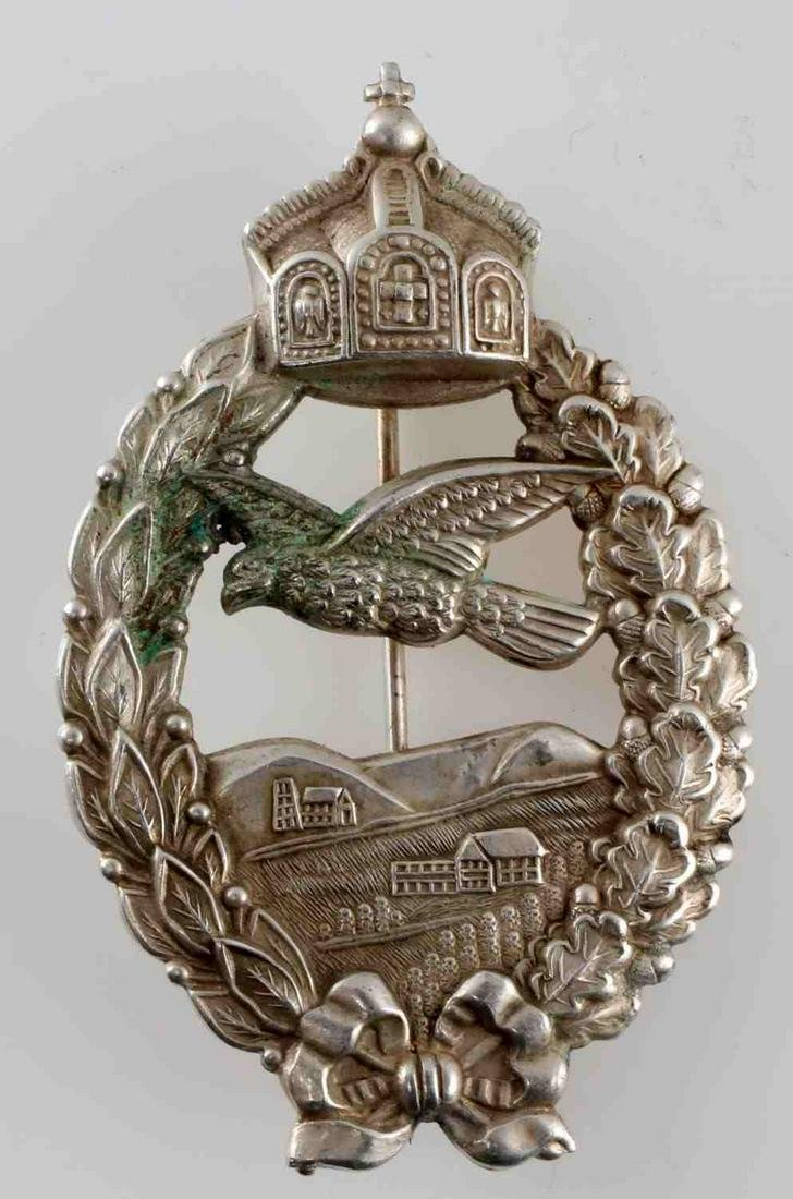 WWI IMPERIAL GERMAN COMMEMORATIVE FLYERS BADGE