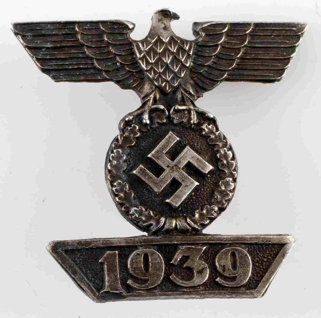 WWII GERMAN 3RD REICH 2ND CLASS IRON CROSS SPANGE