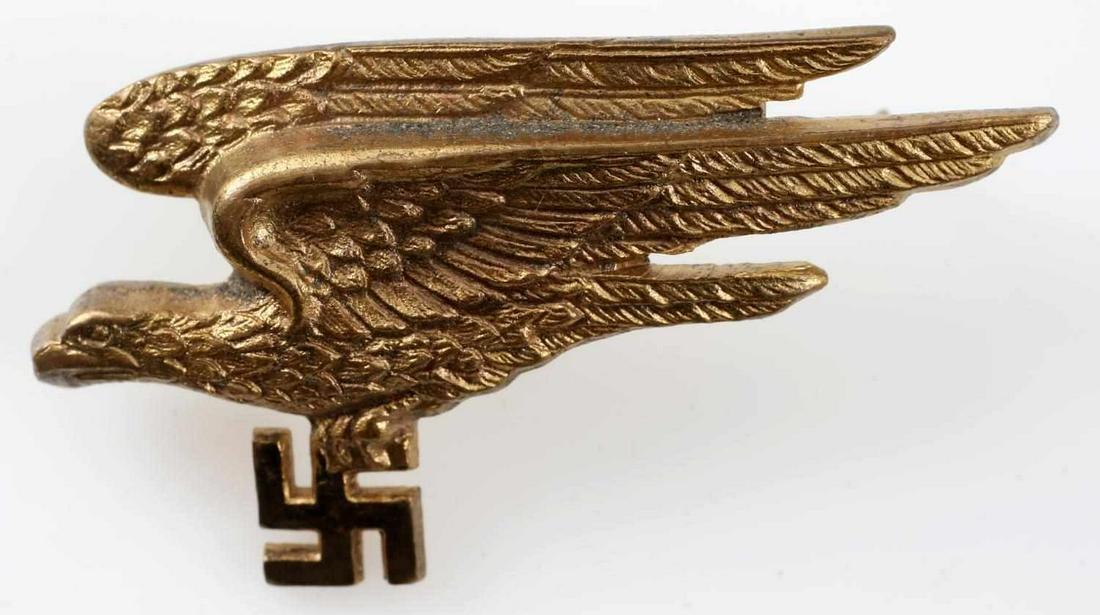 WWII GERMAN 3RD REICH FALLSCHIRMJAGER BADGE EAGLE