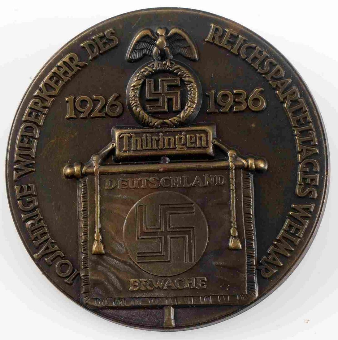WWII GERMAN THIRD REICH REICHSPARTEITAG TINNY