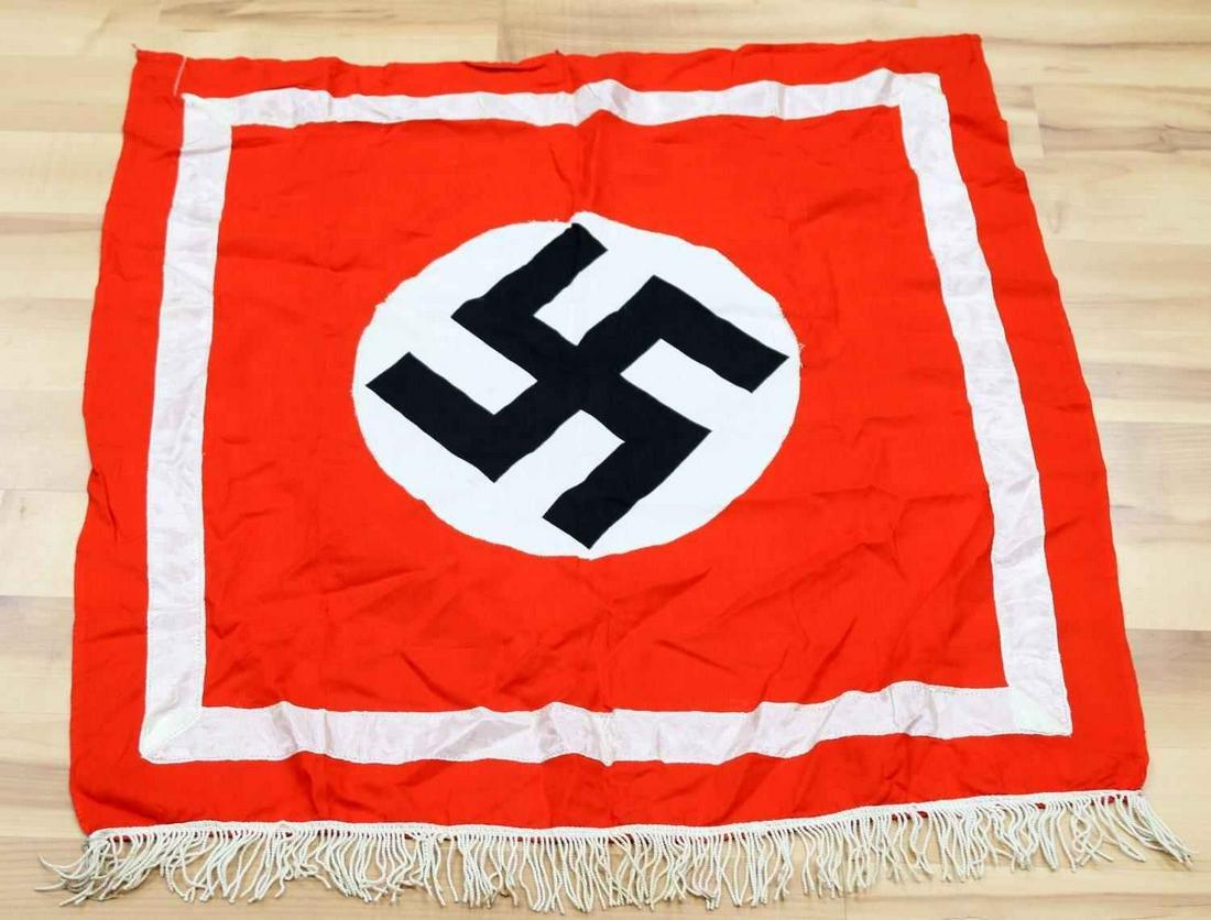 WWII GERMAN THIRD REICH GERMAN BANNER REPLICA