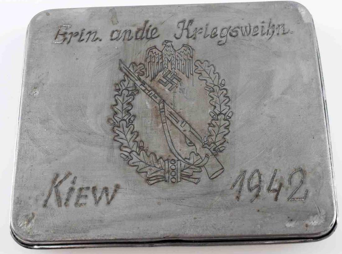 WWII GERMAN THIRD REICH BATTLE FOR KIEV CIG CASE