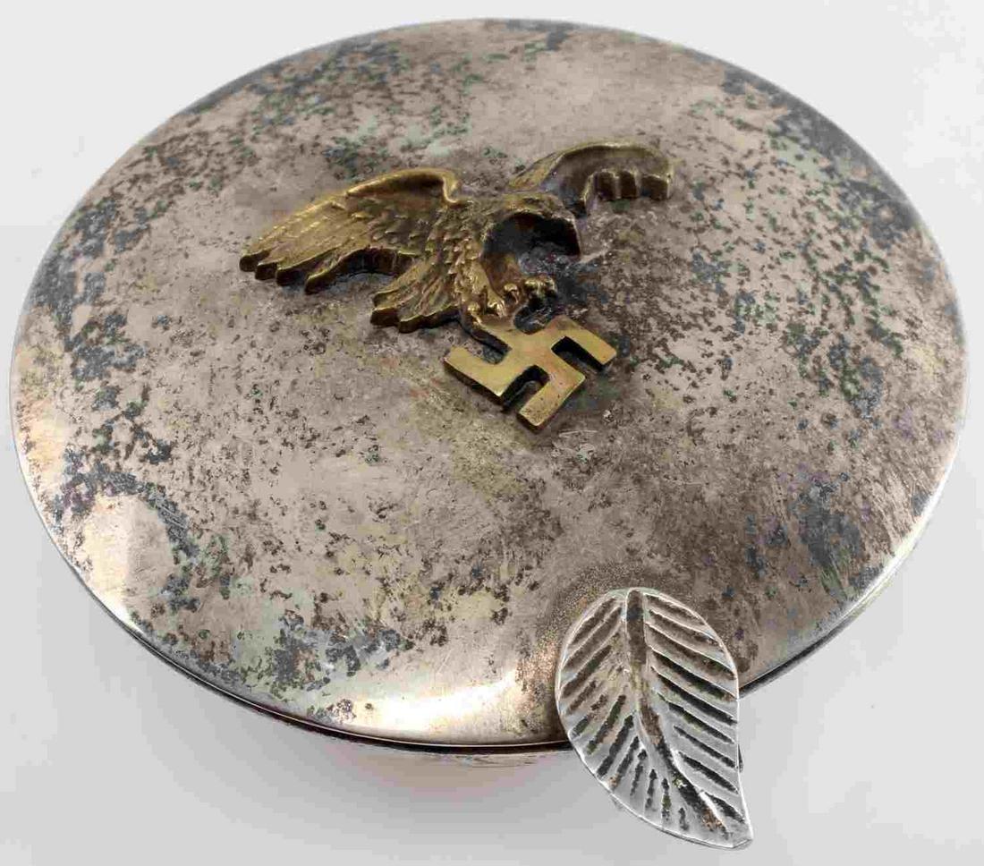 WWII GERMAN THIRD REICH LUFTWAFFE CANDLE HOLDER