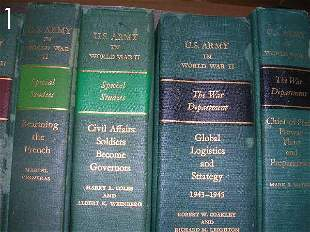 BOX LOT - US ARMY IN WWII BOOKS