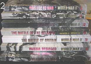 BOX LOT - TIME LIFE WWII BOOKS -7 VOLUMES TOTAL