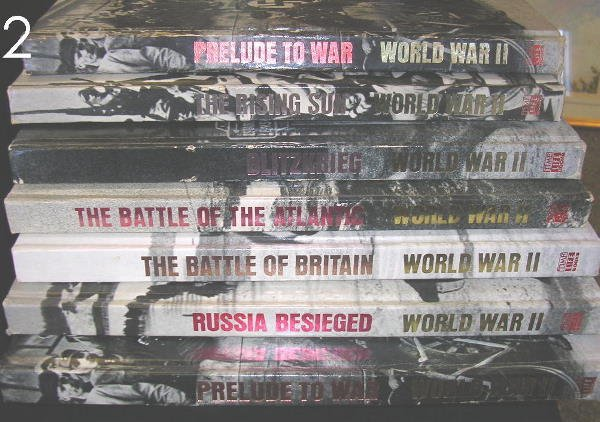 2: BOX LOT - TIME LIFE WWII BOOKS -7 VOLUMES TOTAL