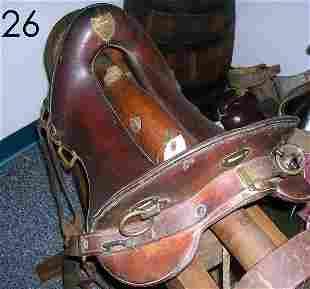 McCLELLAN SADDLE ORIGINAL 1904 GOOD CONDITION