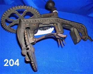 ANTIQUE PRIMITIVE APPLE CORER 1898 GOODELL CO