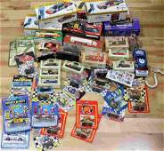 LOT OF ASSORTED NASCAR TOY CARS SEALED IN PACKAGE