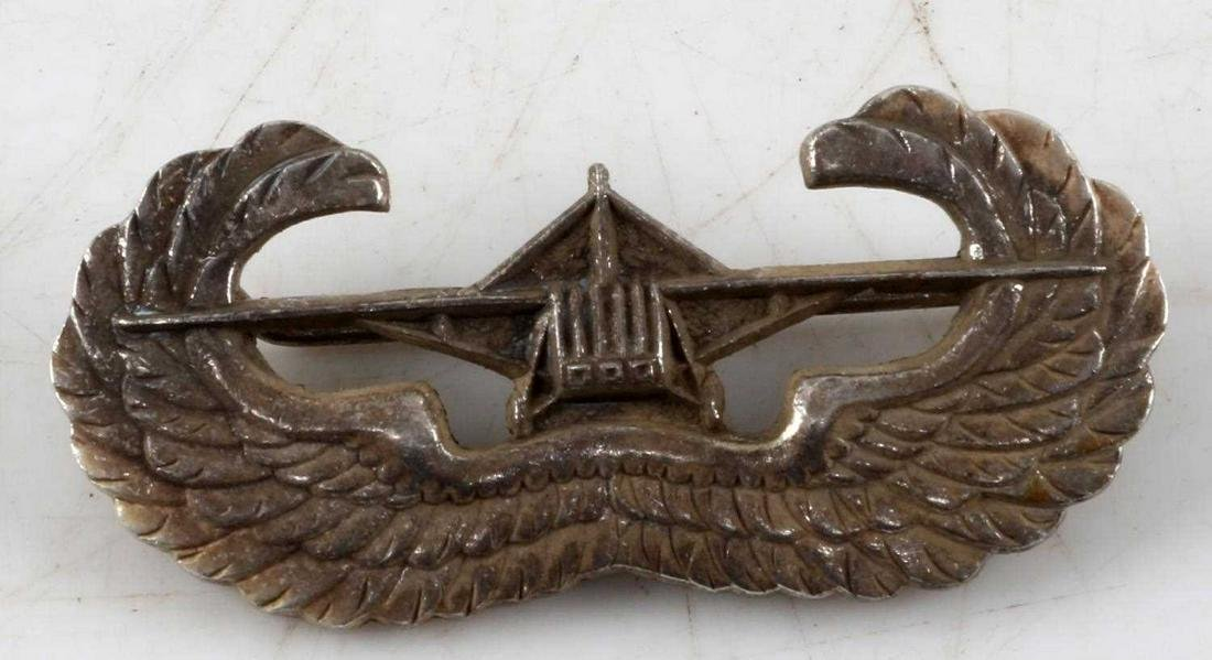 WWII US ARMY AIRBORNE GLIDER ASSAULT WING BADGE