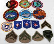 US MILITARY MULTI CONFLICT PATCH LOT OF 15