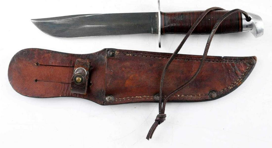 WWII WESTERN MARK I US NAVY FIGHTING KNIFE