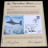 WWII GERMAN LUFTWAFFE SIGNED FIRST DAY COVER