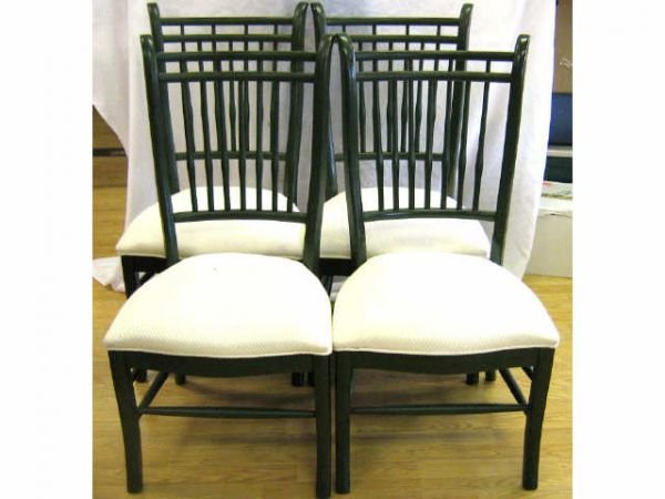 85006A: SET OF DINING ROOM CHAIRS 4 DREXEL HERITAGE