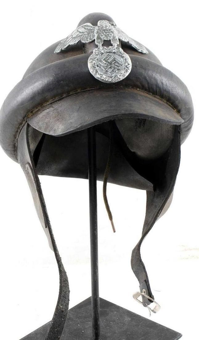 WWII GERMAN THIRD REICH NSKK MOTORCYCLE HELMET