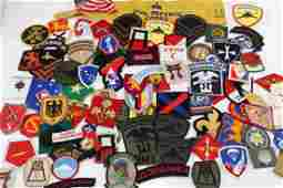 MULTI CONFLICT US MILITARY PATCH LARGE LOT