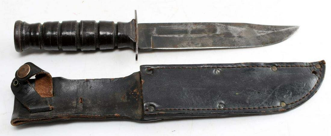 WWII NAVY MARK I FIGHTING KNIFE CAMILLUS MAKER
