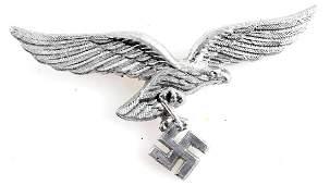 WWII GERMAN THIRD REICH LUFTWAFFE VISOR CAP EAGLE