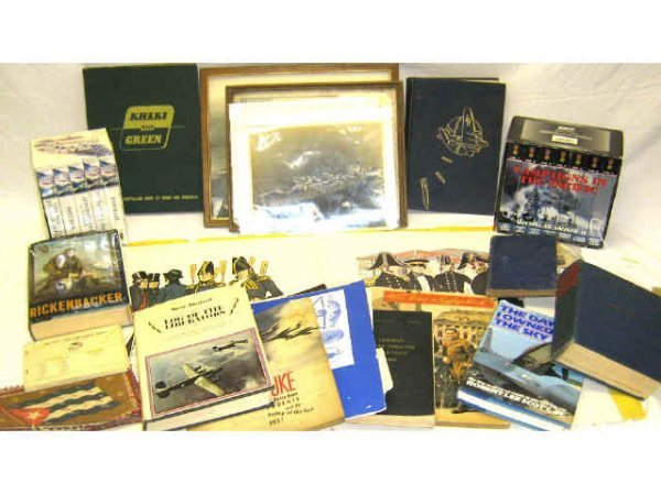 MILITARY RELATED PUBLICATIONS & VIDEOS WWII