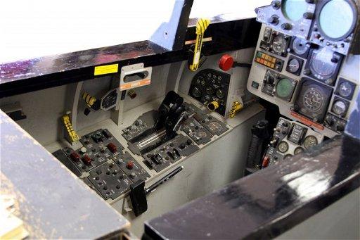 ORIGINAL F-4 PHANTOM FLIGHT SIMULATOR FULL SCALE