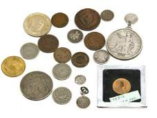 US COIN COLLECTION HALF LARGE INDIAN CENT TRADE $